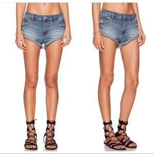 Free People Cutoof Rolled Shorts